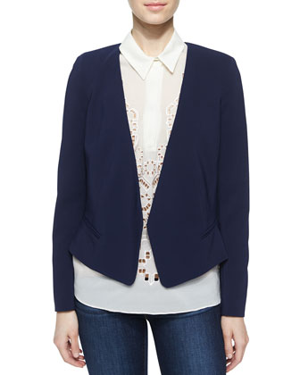 Ref Suiting Blazer, Navy
