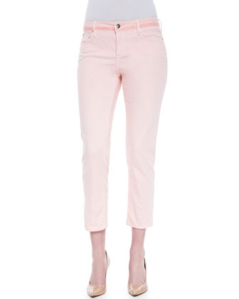 Zoe Color Wash Ankle Jeans