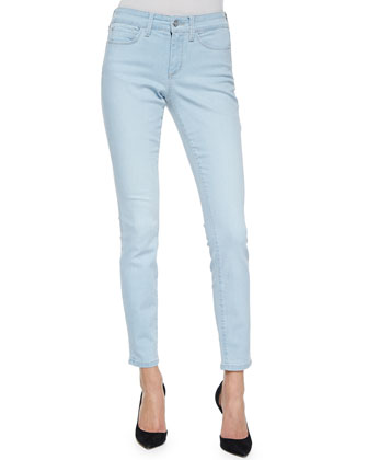 Ami Super Skinny Jeans, Powder Blue