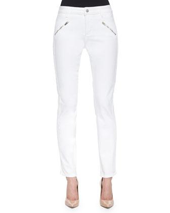 Alina Leggings W/ Mesh Tux Stripe