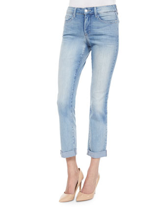 Leanne Boyfriend Jeans, Light Denim