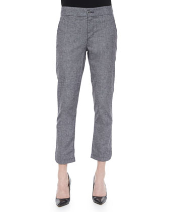 Iria Slim Ankle Pants