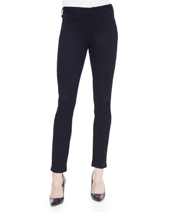 Alina Super-Stretch Legging Jeans, Dark Denim