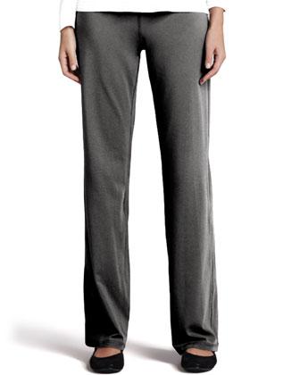 Long-Sleeve Jersey Tee, Organic Drawstring Jacket & Pants
