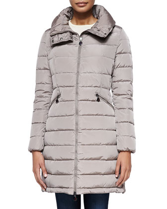 Flamme Mid-Length Puffer Jacket