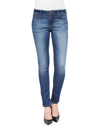 Florence Faded Denim Skinny Jeans