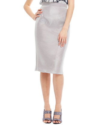 Mesh Pencil Skirt, Eraser