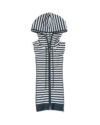 Striped Knit Dickey