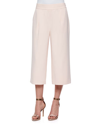 Lexina Wide-Leg Crop Pants