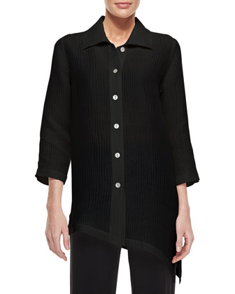 Long-Sleeve Ribwave Shirt