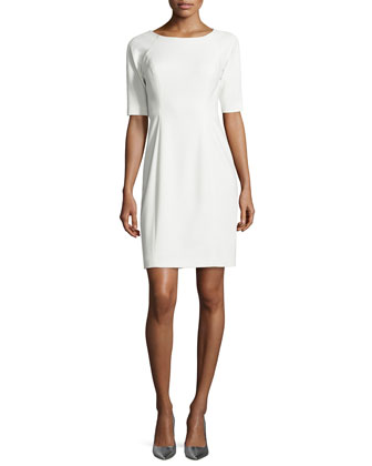 Lainey Sheath Dress, Ivory