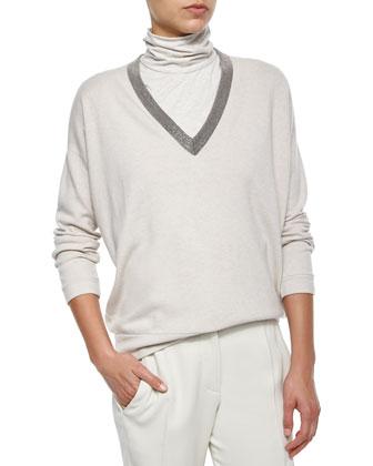 Sleeveless Puffer Jacket, V-Neck Sweater, Sleeveless Turtleneck & Woven ...
