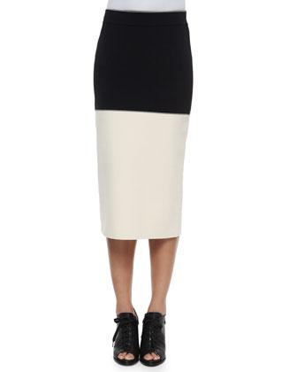 Regina Colorblock Crop Top & Midi Skirt