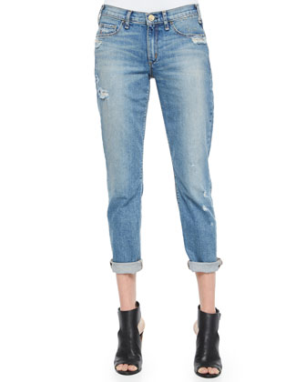 Mrs. Robinson Distressed Boyfriend Jeans, Vintage Series 1