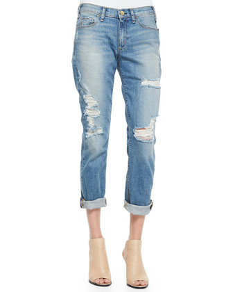 Mrs. Robinson Distressed Boyfriend Jeans, Vintage Series 3
