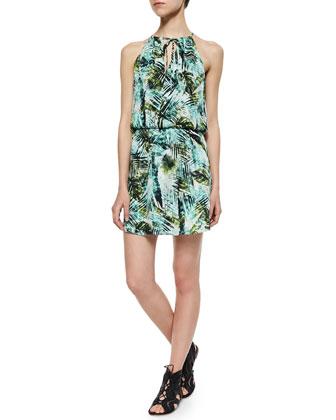 Amazonia Fleur Silk Dress