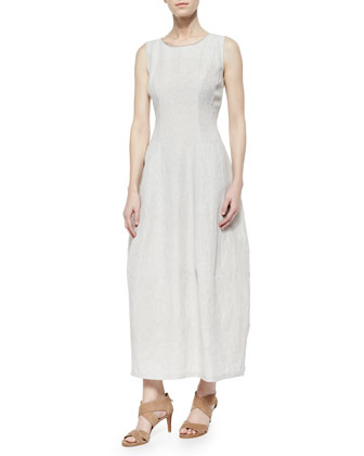 Angela Linen Maxi Dress