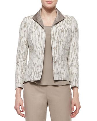 Laryn Jacquard Jacket, Osprey