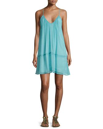 Tiered Chiffon Camisole Dress