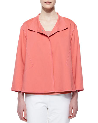 McKenna Swing Topper Jacket, Bellini