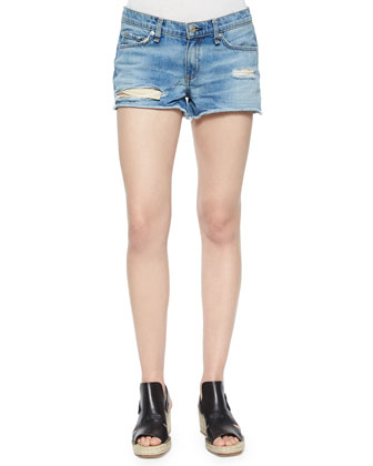 Bigbee Cutoff Denim Shorts