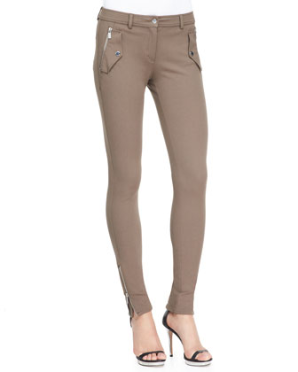 Stretch Techno Twill Leggings