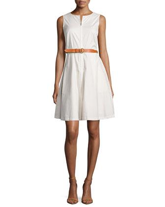 Gralista Stretch Poplin Dress