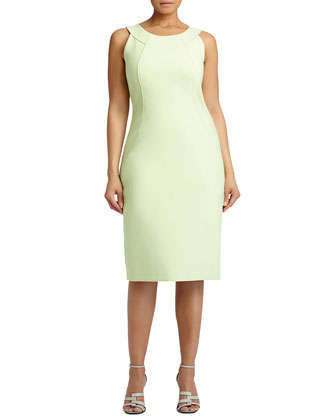 Alora Sleeveless Sheath Dress
