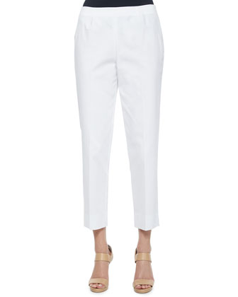 Bleecker Bi-Stretch Cropped Pants