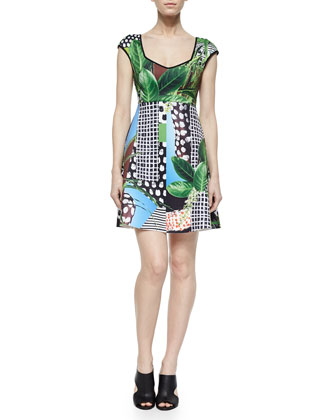 Harvest Ritual Printed Dress