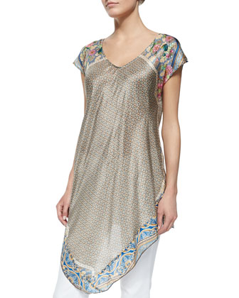 Lowell Long Asymmetric Tunic
