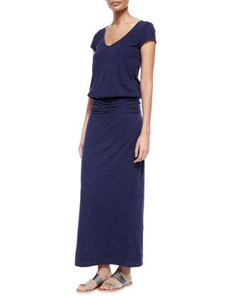 Wilcox Ruch-Waist Maxi Dress