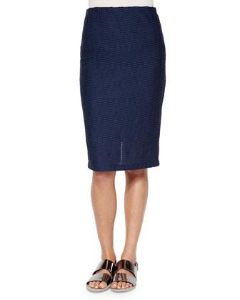Salsa Midi Pencil Skirt