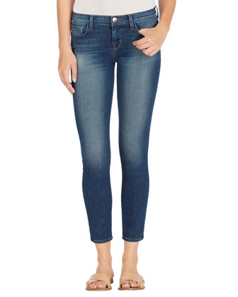 922 Low-Rise Cropped Ankle Jeans, Affinity