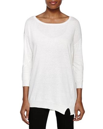 Dolman Sleeve Sweater, Chalk