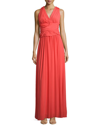 Crisscross-Back Gown, Fire