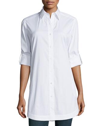 Jaycee Rolled-Sleeve Tunic