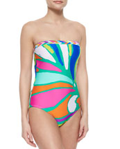 Tropicalia Printed One-Piece Swimsuit, Multi