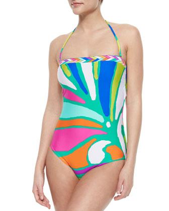 Tropicalia Printed One-Piece Swimsuit, Multi