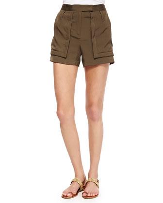 Shorts W/ Patch Pockets
