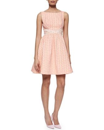 Edie Floral Fit & Flare Dress