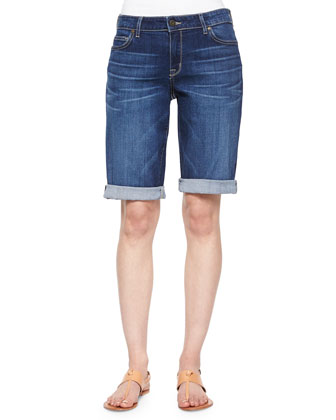 Honor Roll-Up Bermuda Shorts