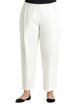 Pleated Ankle Pants, Women's