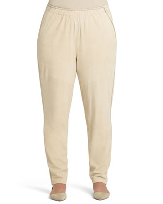 Track Pants W/ Piping, Soy, Women's