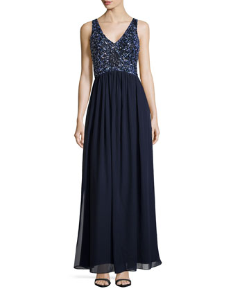 Beaded Bodice Gown, Twilight