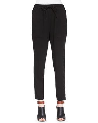 Laurette Short-Sleeve Printed Top & Polina Drawstring Pants