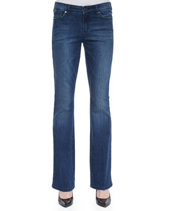 Grace Boot-Cut Jeans, Zapp Wash, Women's