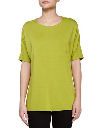 Short-Sleeve Tee, Apple Green