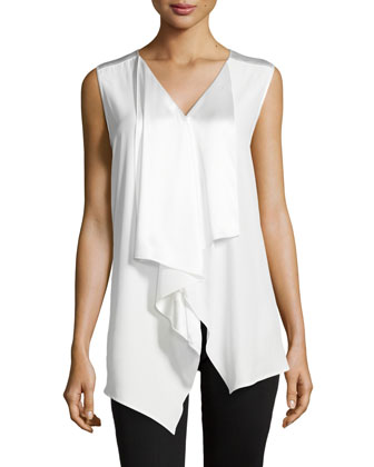 Lavina Sleeveless Top, Cloud