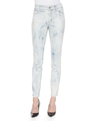 Alina High-Rise Cloud Wash Legging Jeans
